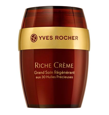 Krem przeciwzmarszczkowy intensywnie regenerujący Riche Crème intensywna pielęgnacja przeciwzmarszczkowa Yves Rocher,