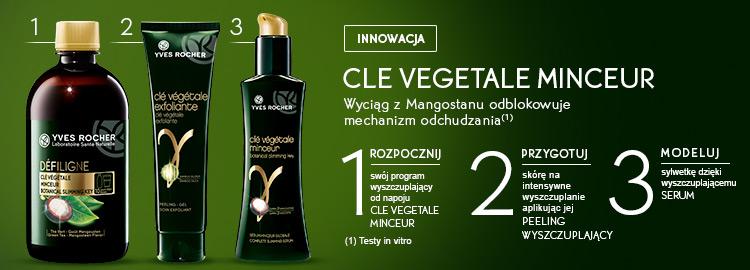 Clé Végétale Minceur Yves Rocher: Serum, Peeling i Napój