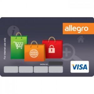 Karta internetowa allegro obsługiwana przez Bank Zachodni WBK - nagroda w programie lojalnościowym Payback.