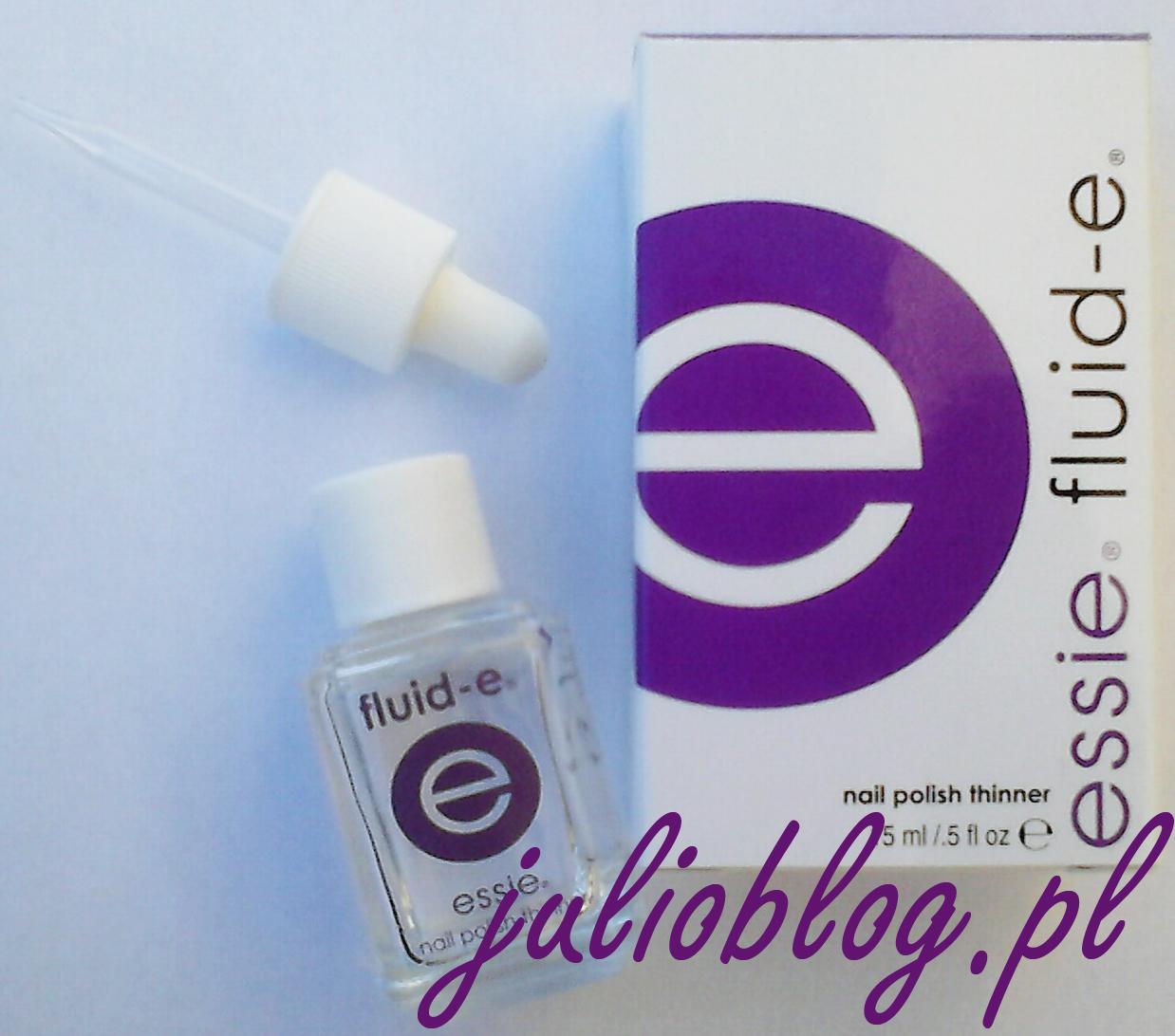 Essie fluid-e 13,5ml. Rozcieńczalnik lakieru do paznokci.