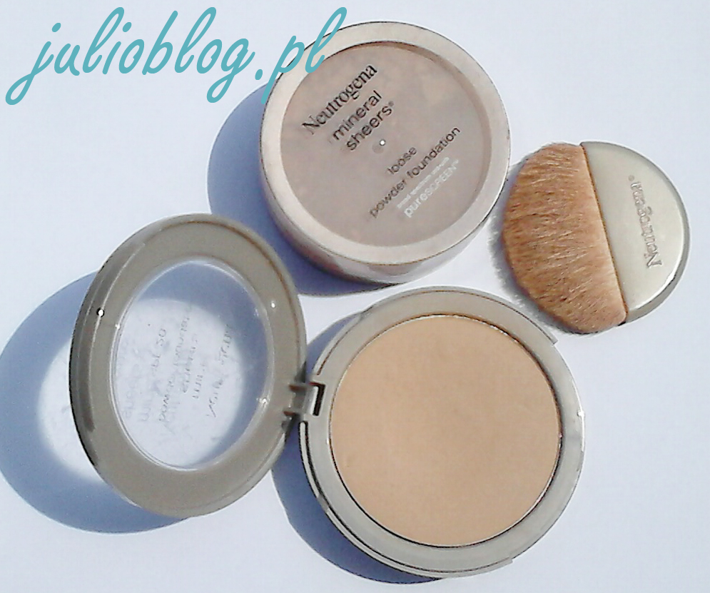 Sypki puder mineralny Neutrogena Mineral Sheers Loose Powder Foundation SPF20