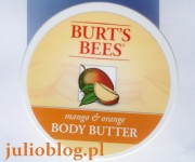 Masło do ciała Mango & Orange Body Butter Burt's Bees. Masło do ciała Mango & Orange Body Butter Burt's Bees.