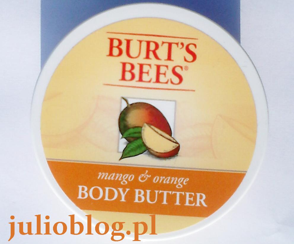 Masło do ciała Mango & Orange Body Butter Burt's Bees. Masło do ciała Mango & Orange Body Butter Burt's Bees.