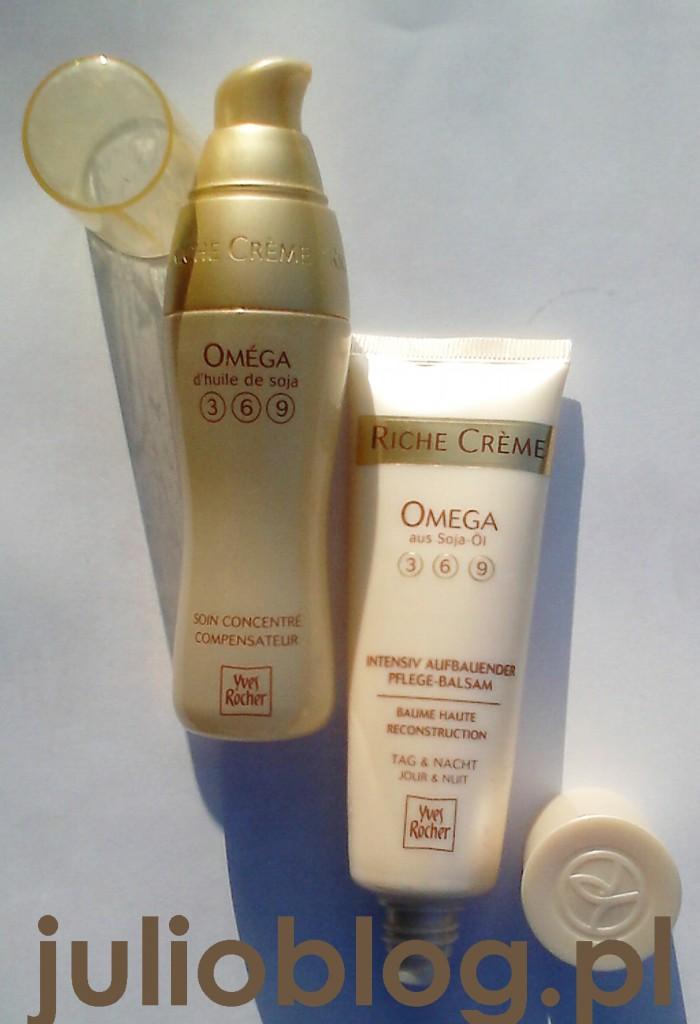 Intensywne serum przeciwzmarszczkowe Riche Crème Omega Yves Rocher