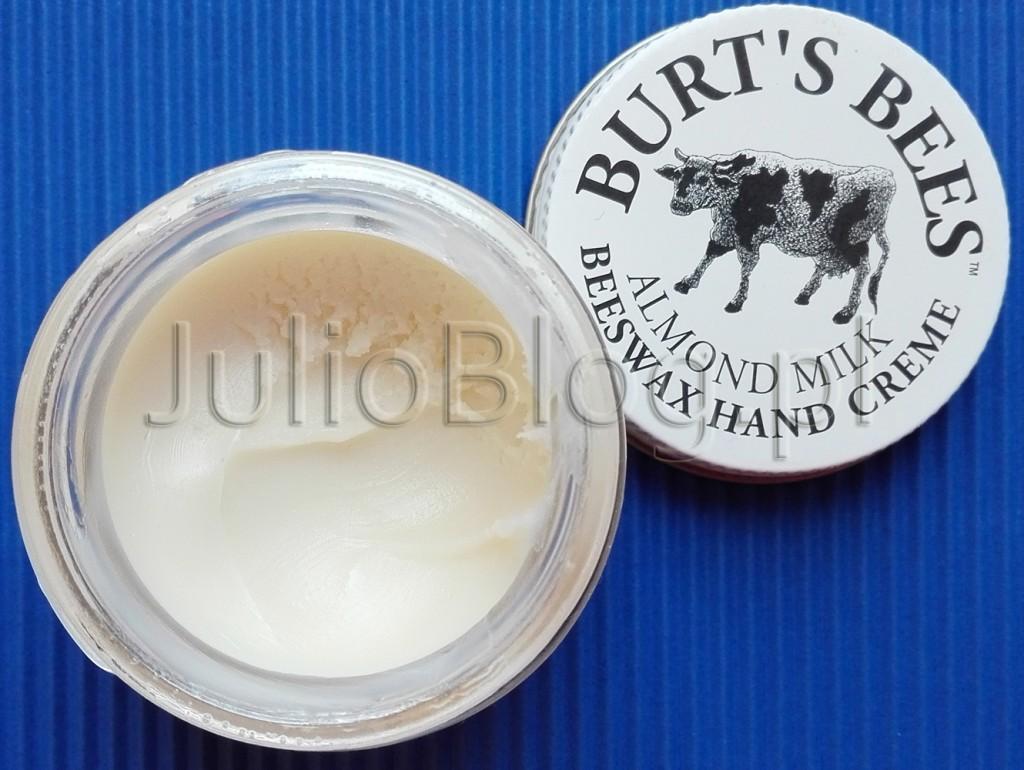Migdałowy-krem-do-rąk-Almond-Milk-Hand-Cream-Burt's-Bees-bardzo-sucha-skóra-zima-naturalna-pielęgancja-treściwy-gęsty-bogaty-krem-do-rąk-57g-ok-50zł-JulioBlog.pl-blog-Julii-naturalny