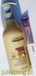 Szampon Loreal Professionel Salon Expert ABSOLUT REPAIR CELLULAR do włosów bardzo zniszczonych, uwrażliwionych lub osłabionych zabiegami chemicznymi