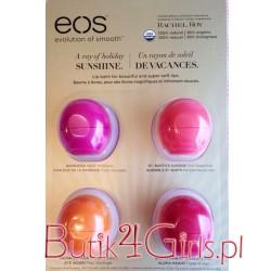 Zestaw balsamów do ust EOS