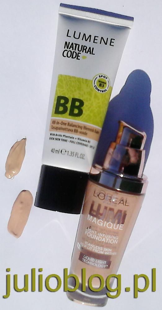 Krem Lumene Natural Code Multi BB. Jeśli zmagasz się z niedoskonałościami skóry mieszanej i tłustej, to koniecznie sprawdź krem Lumene Natural Code Multi BB. Kosmetyk ten wyrównuje koloryt twarzy niweluje powstające zaczerwienienia oraz matowi skóry, zapobiegając świeceniu. Dzięki wysoko napigmentowanej formule, krem przykrywa niedoskonałości oraz wypryski. W jego składzie znajdziesz wyciąg z nasion i liści arktycznej babki lancetowatej. Ponadto produkt zapewnia skórze ochronę UV. Jak przystało na Lumene, krem wolny jest od parabenów, siarczanów, silikonu i alkoholu etylowego. Ukryj wszelkie niedoskonałości! Kremi Lumene Natural Code Multi BB matowi skórę ukrywa wszelkie zaczerwienienia i niedoskonałości chroni przed promieniowaniem słonecznym zawiera cenne wyciągi z nasion i liści arktycznej babki lancetowatej krem wolny od parabenów, silikonów, siarczanów i alkoholu etylowego Sposób użycia: Stosuj na oczyszczoną i suchą skórę. Pojemność: 40ml Natural Code by Lumene Multi BB Krem Korygujący Niedoskonałości Cery 40ml Szybka korekta, wielofunkcyjność w celu gwarancji najlepszego efektu. Wyrównuje koloryt skóry, pomaga pokryć zaczerwienienia i zanieczyszczenia oraz utrzymuje matową powierzchnię skóry. Przykrywa niedoskonałości skóry dzięki wysoko pigmentowanej formule. Zawiera wyciąg z liści i nasion arktycznej babki lancetowatej. Faktor SPF 25 daj wysoką ochronę przed czynnikami zewnętrznymi i promieniowaniem UVA/UVB . Pozbawiony parabenów, siarczanów, silikonu, alkoholu etylowego. Idelane dla cery mieszanej i tłustej.