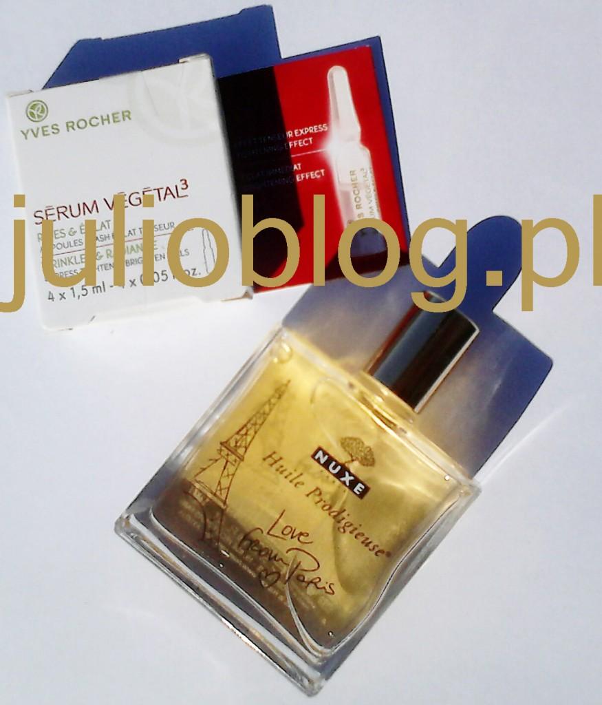 Suchy olejek do pielęgnacji twarzy, ciała i włosów NUXE Huile Prodigieuse®
