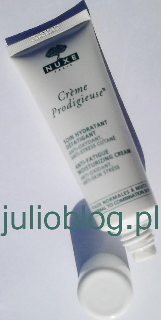 Krem nawilżający przeciwzmarszczkowy do skóry normalnej i mieszanej Nuxe Crème Prodigieuse®