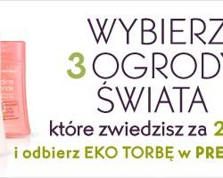 Promocja Yves Rocher w sklepie online: za 22zł można wybrać trzy różne zapachy żeli JARDINS DU MONDE