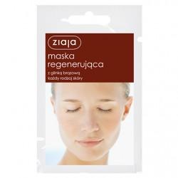 ZIAJA. Maska regenerująca z glinką brązową do każdego rodzaju skóry