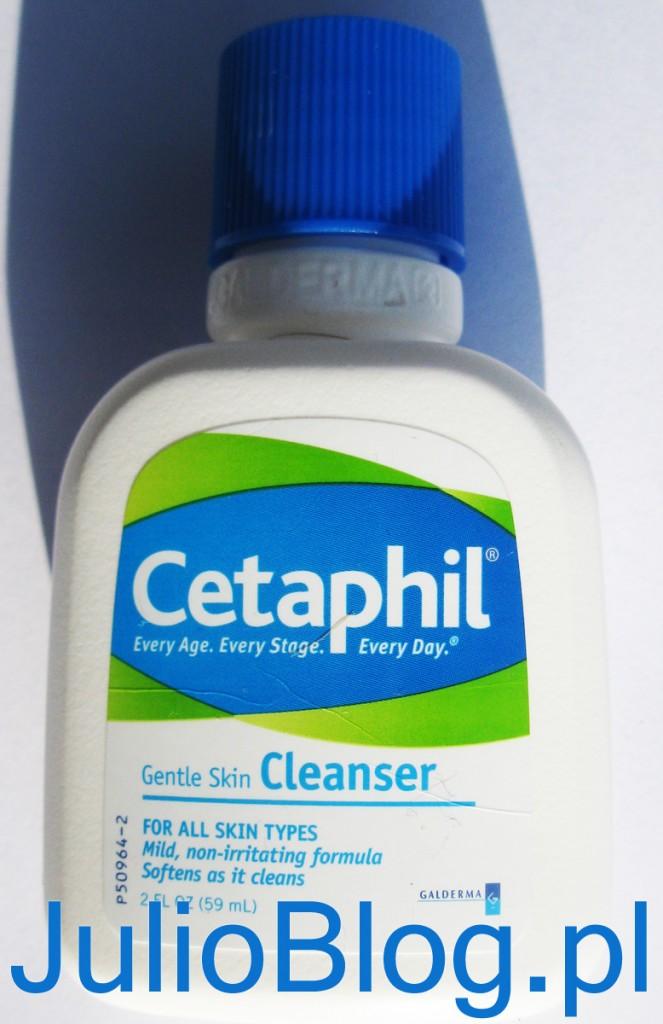 Łagodna emulsja myjąca Cetaphil Preparat zalecany jako delikatny, niepowodujący podrażnień kosmetyk do codziennego mycia skóry wrażliwej. Skład: Aqua, Cetyl Alcohol, Propylene glycol, Butylparaben, Methylparaben, Propylparaben, Sodium Lauryl Sulfate, Stearyl Alcohol, FIL 0214.V00. Działanie: Pomaga zachować odpowiedni poziom nawilżenia skóry. Pozostawia skórę delikatną, gładką i zdrową. Oczyszczając równocześnie zmiękcza i wygładza skórę. pH fizjologiczne. Łagodne i jednocześnie skuteczne oczyszczanie skóry, rekomendowane również u dzieci. Wskazania: Rekomendowany do codziennej pielęgnacji skóry uszkodzonej z powodu chorób dermatologicznych, jak również po zabiegach dermatologicznych. Może być używany do demakijażu. Stosowanie: Nanieś emulsję na skórę i delikatnie masuj. Bez użycia wody: Nadmiar zetrzyj delikatną chusteczką lub wacikiem. Używając wody: Zmyj wodą i delikatnie wysusz.