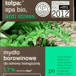 Borowinowe mydło w kostce polskiej firmy Tołpa, w linii SPA Bio do odnowy biologicznej