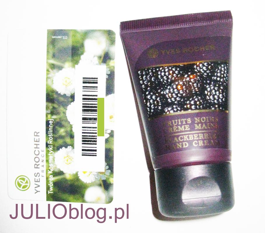 julioblog.pl-karta-stałego-klienta-yves-rocher-prezent-mikołajkowy-krem-do-rąk-czarne-owoce-miniaturka-30ml-święta-2014-grudzień-limitowana-edycja
