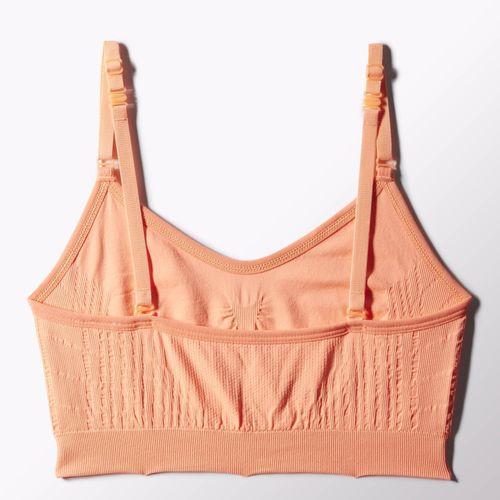 adidas zakupy julii julioblog.pl Damskie Trening biustonosz seampless three in one flash orange 3 sposoby regulacji ramiączek