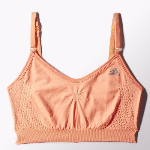 adidas zakupy julii julioblog.pl Damskie Trening biustonosz seampless three in one flash orange