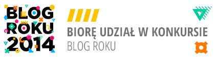 julioblog.pl biorę udział w konkursie blog roku 2014
