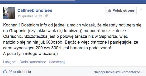 julioblog.pl-juliowym-okiem-callmeblondiee-na-facebook-ostrzega-przed-podróbką-szczoteczek-sonicznych-clarisonic-sprzedawanych-na-serwisie-zakupów-grupowych-groupon
