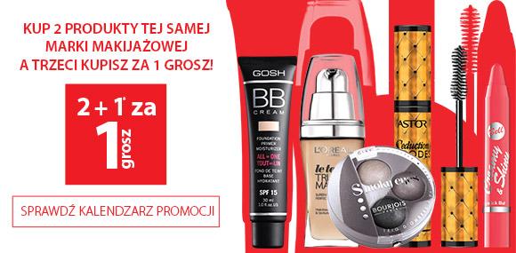 julioblog.pl mailing promocja zniżka rabat gratis dwa kosmetyki plus jeden za 1 grosz makijaż kolorówka hebe styczń 2015