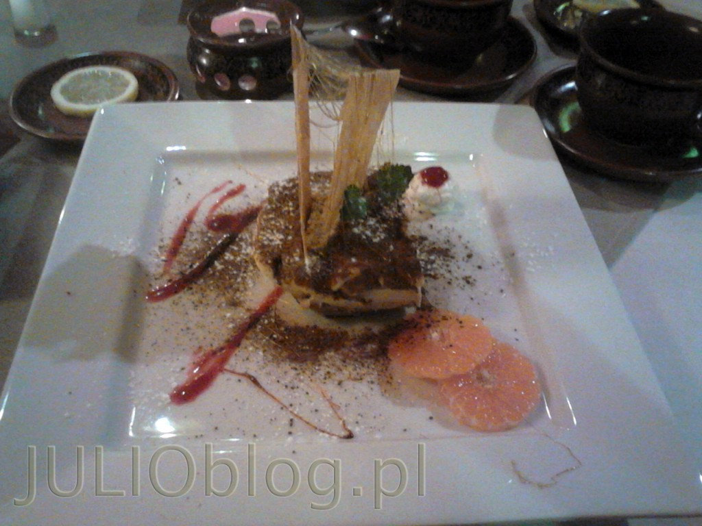julioblog.pl-recenzje-kulinarne-restauracja-włoska-pane-e-vino-katowice-ul-jankego-deser-Tiramisu-alla-Chef-20zł