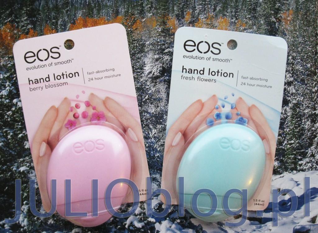Naturalny balsam do rąk EOS Berry Blossom głęboko nawilża skórę sprawiając, że dłonie stają się aksamitnie gładkie jak nigdy dotąd (lub baaardzo dawno temu). Opakowanie balsamu EOS jest równie efektowne, co poręczne. Zapach kwitnących jagód dopełnia perfekcyjną pielęgnację! Balsam do rąk eos: zawiera 95% składników organicznych – posiada elitarny certyfikat USDA ORGANIC jest w 97% naturalny nie zawiera parabenów, ftalanów ani lanoliny to produkt bezglutenowy nie testowany na zwierzętach testowany dermatologicznie hypoalergiczny Certyfikowany produkt organicznyCeryfikat USDA ORGANIC U.S.A.Produkt wegetariańskiNietestowany na zwierzętach Składniki: WATER (EAU), GLYCINE SOJA (SOYBEAN) OIL, COCOGLYCERIDES, GLYCERYL STEARATE, DIMETHICONE, GLYCERIN, CETEARYL ALCOHOL, SODIUM STEAROYL LACTYLATE, HELIANTHUS ANNUUS (SUNFLOWER) SEED OIL, BUTYROSPERMUM PARKII (SHEA BUTTER), MACADAMIA TERNIFOLIA SEED OIL, ALOE BARBADENSIS LEAF JUICE, AVENA SATIVA (OAT) MEAL EXTRACT, TETRAHEXYLDECYL ASCORBATE, TOCOPHERYL ACETATE, RETINYL PALMITATE, FRAGRANCE (PARFUM), CARBOMER, METHYLCHLOROISOTHIAZOLINONE, METHYLISOTIAZOLINONE, DMDM HYDANTOIN, SODIUM HYDROXIDE, TETRASODIUM EDTA, BHT. Naturalny balsam do rąk EOS Fresh Flowers głęboko nawilża skórę sprawiając, że dłonie stają się aksamitnie gładkie jak nigdy dotąd (lub baaardzo dawno temu). Opakowanie balsamu EOS jest równie efektowne, co poręczne. Przepiękny zapach świeżych wiosennych kwiatów dopełnia perfekcyjną pielęgnację! Balsam do rąk eos: zawiera 95% składników organicznych – posiada elitarny certyfikat USDA ORGANIC jest w 97% naturalny nie zawiera parabenów, ftalanów ani lanoliny to produkt bezglutenowy nie testowany na zwierzętach testowany dermatologicznie hypoalergiczny Certyfikowany produkt organicznyCeryfikat USDA ORGANIC U.S.A.Produkt wegetariańskiNietestowany na zwierzętach Składniki: WATER/EAU, GLYCERIN, STEARIC ACID, GLYCINE SOJA (SOYBEAN) OIL, HELIANTHUS ANNUUS (SUNFLOWER) SEED OIL, COCOGLYCERIDES, GLYCERYL STEARATE, DIMETHICONE, 