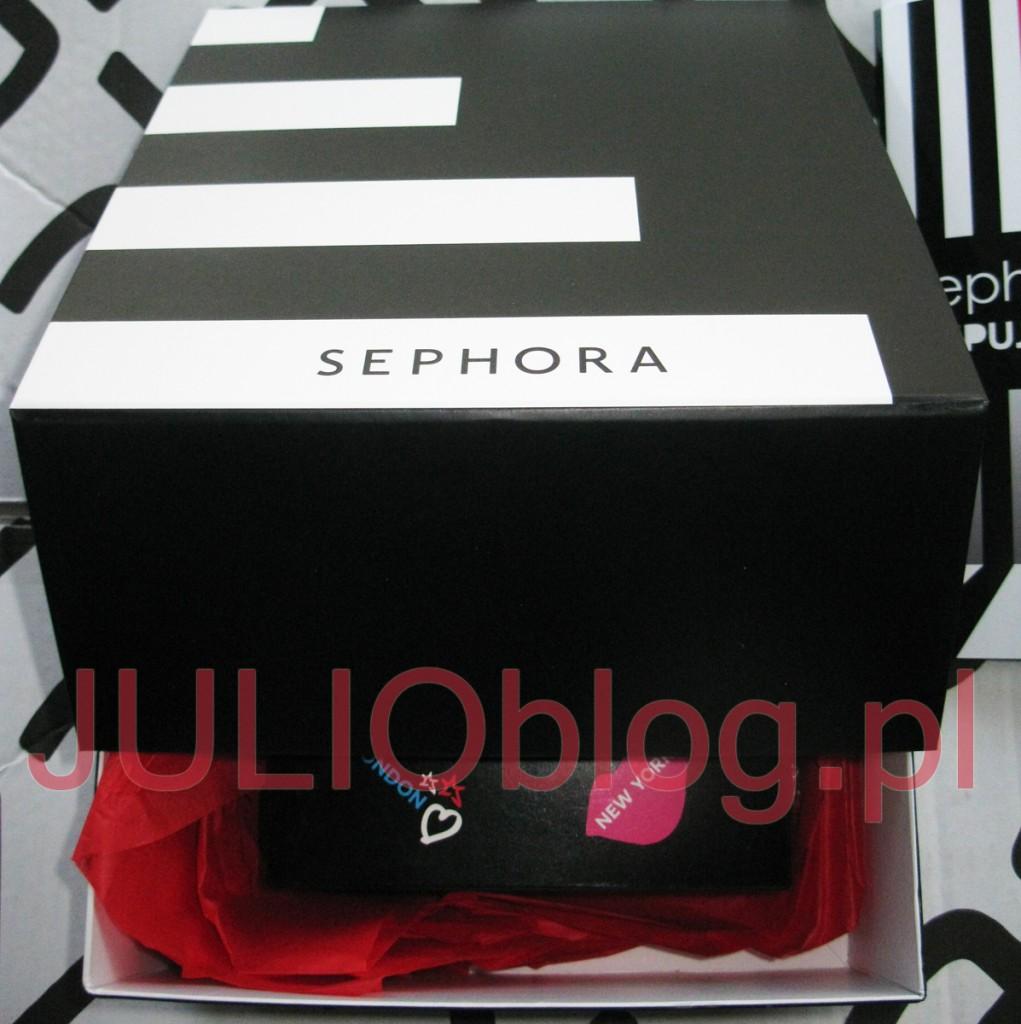 julioblog.pl-zakupy-julii-przesyłka-ze-sklepu-internetowego-sephora-online-pudełko-pakowanie-prezentów-openbox-blog-paleta-do-makijazu-make-up-party-box