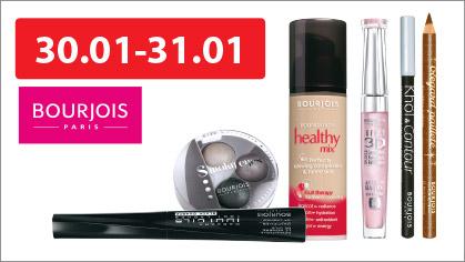 julioblog.plpromocja zniżka rabat gratis dwa kosmetyki plus jeden za 1 grosz makijaż kolorówka hebe styczń 2015 bourjois 30.01 i 31.01 2014