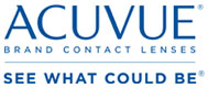 acuvue logo brand contact lenses