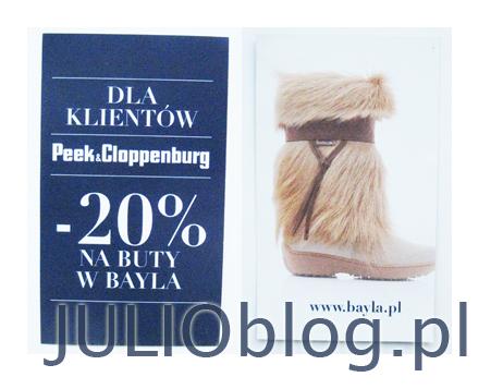 julioblog.pl-promocja-dla-klientów-peek-and-cloppenburg-rabat-20-procent-na-buty-do-sklepu-bayla-zniżka-promocja-którą-wypatrzyłam