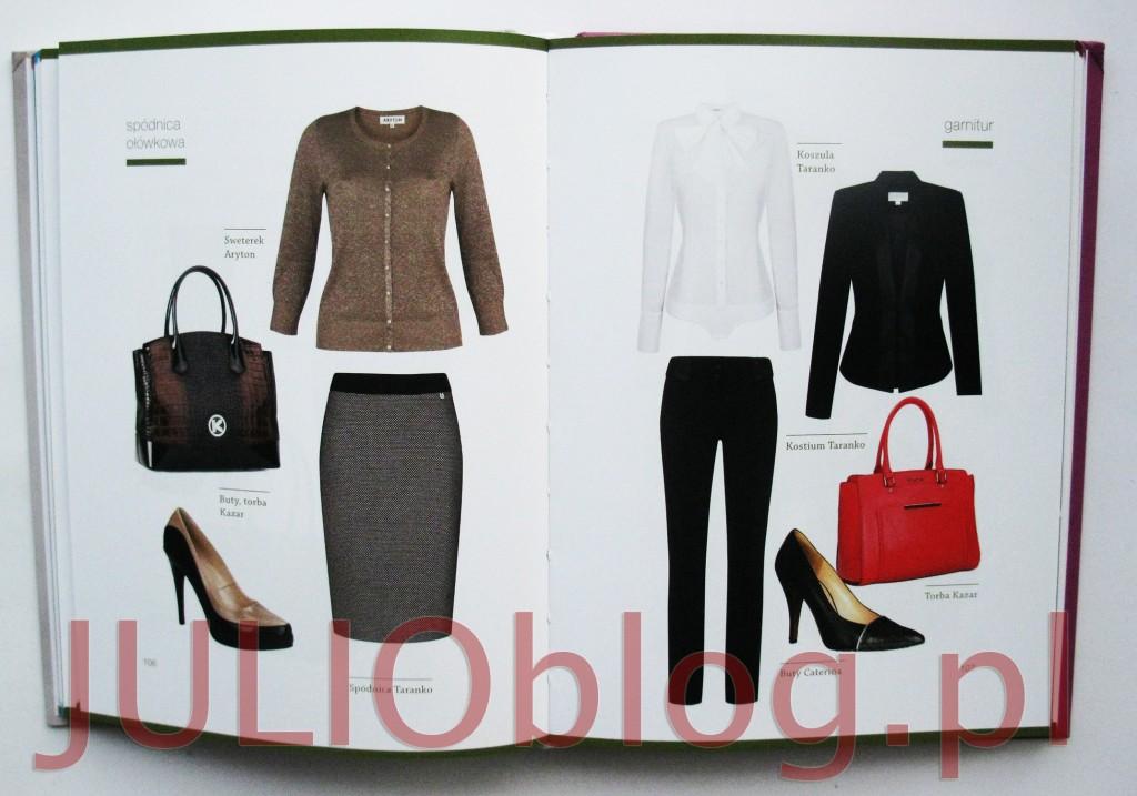 julioblog.pl-recenzja-książki-moniki-jurczyk-szefowa-swojej-szafy-wydawnictwo-burda-poradnik-modowy-piramida-prawidłowego-ubierania-przykładowe-ubrania-przykłady-stylizacji