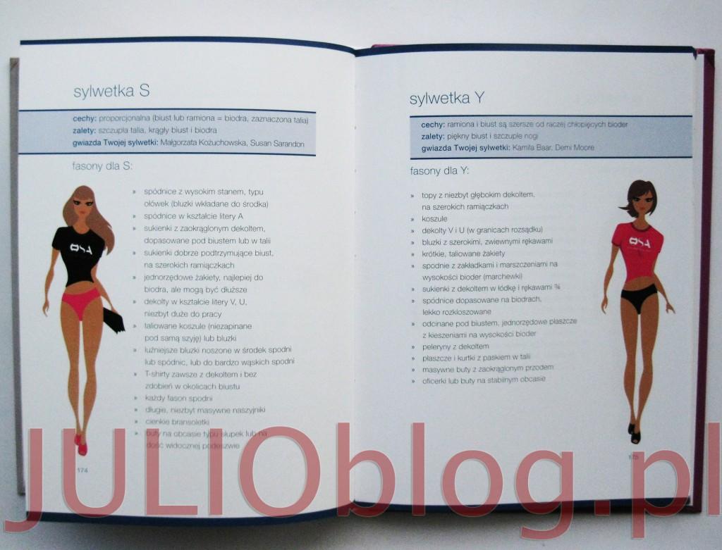 julioblog.pl-recenzja-książki-moniki-jurczyk-szefowa-swojej-szafy-wydawnictwo-burda-poradnik-modowy-typy-rodzaje-sylwetek-osa-sylwetka-t-sylwetka-s