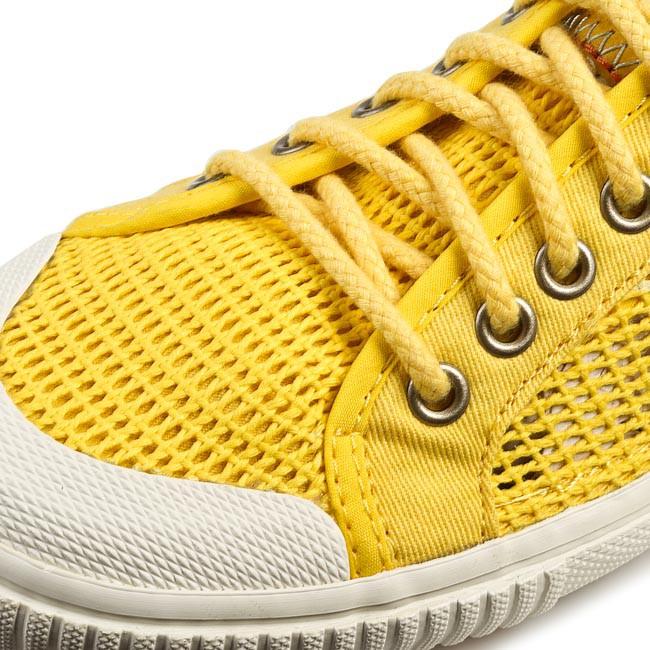 julioblog.pl zakupy julii buty Trampki TRETORN Seksti Mesh 47 288203 Dandelion żółte zbliżenie