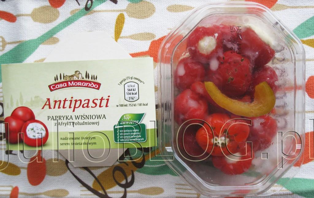 julioblog.pl-blog-julii-dieta-antipasti-papryka-wiśniowa-z-afryki-południowej-nadziewana-świeżym-serkiem-śmietankowym-aldi
