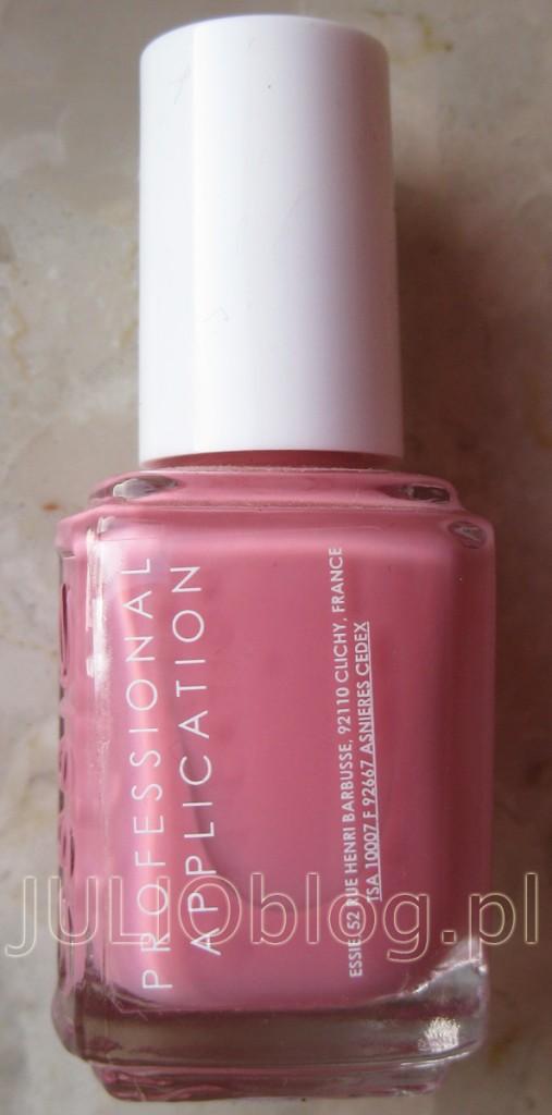 julioblog.pl-blog-julii-lakier-do-paznokci-essie-professional-application-wąski-pędzelek-profesjonalna-wersja-dla-salonów-manicure-kolor-odcień-swatch-814-I-AM-STRONG-manicure-essie-nail-polish-13.5-ml-róż-buteleczka