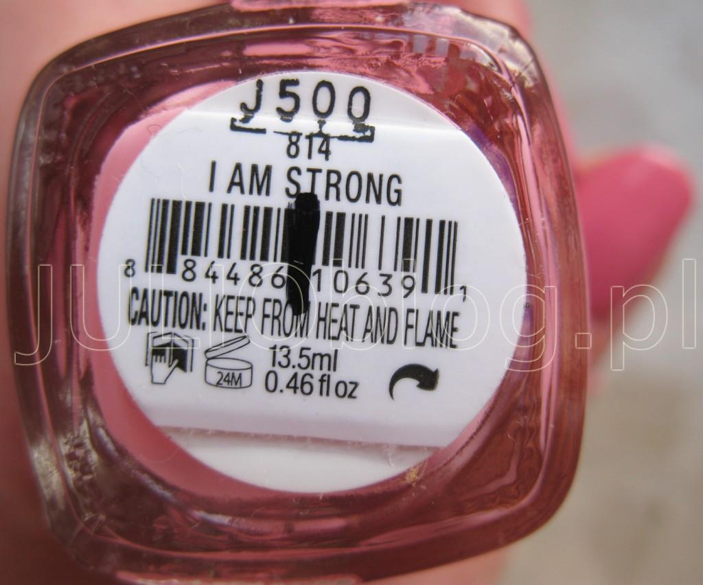 julioblog.pl-blog-julii-lakier-do-paznokci-essie-professional-application-wąski-pędzelek-profesjonalna-wersja-dla-salonów-manicure-kolor-odcień-swatch-814-I-AM-STRONG-manicure-essie-nail-polish-naklejka