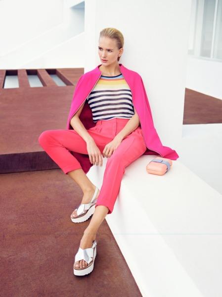 julioblog.pl sandały na platformie kampania solar wiosna lato 2015 moda
