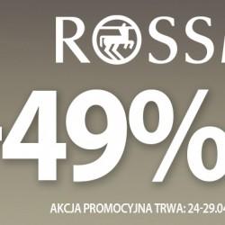 Promocja -49% w Rossman i mój mały nabytek. -49% na wszystkie podkłady, pudry, róże, bronzery i korektory do twarzy w Rossman. -49% na wszystkie podkłady, pudry, róże, bronzery i korektory do twarzy w Rossman.