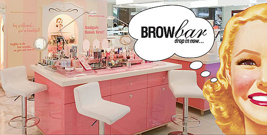 brow bar benefit stoisko