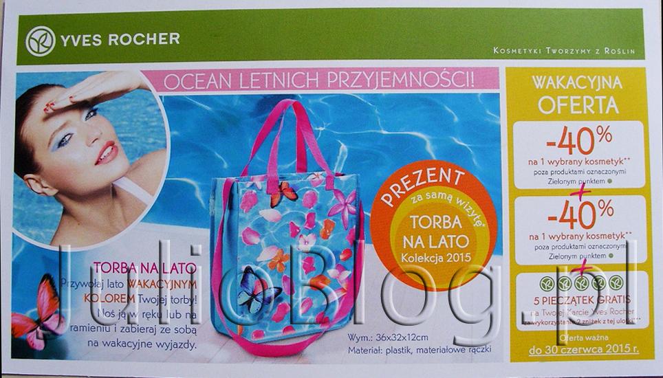 julioblog.pl-blog-julii-oferta-sklep-stacjonarny-yves-rocher-ulotka-czerwiec-2015-torba-gratis-5-dodatkowych-pieczątkek-gratis