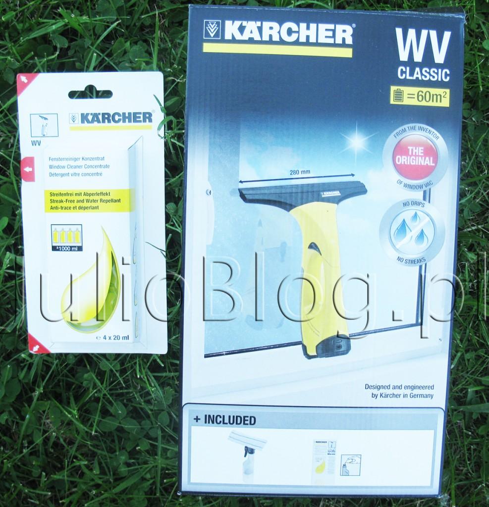 julioblog.pl-saszetki-Koncentratu-do-mycia-okien-RM-503-Kärcher-i-myjka-do-czyszczenia-okien-karcher-WV-Classic