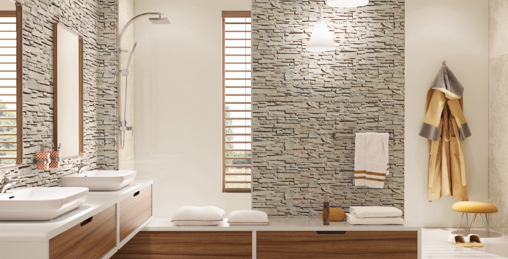 STONE MASTER kamień dekoracyjny w łazience