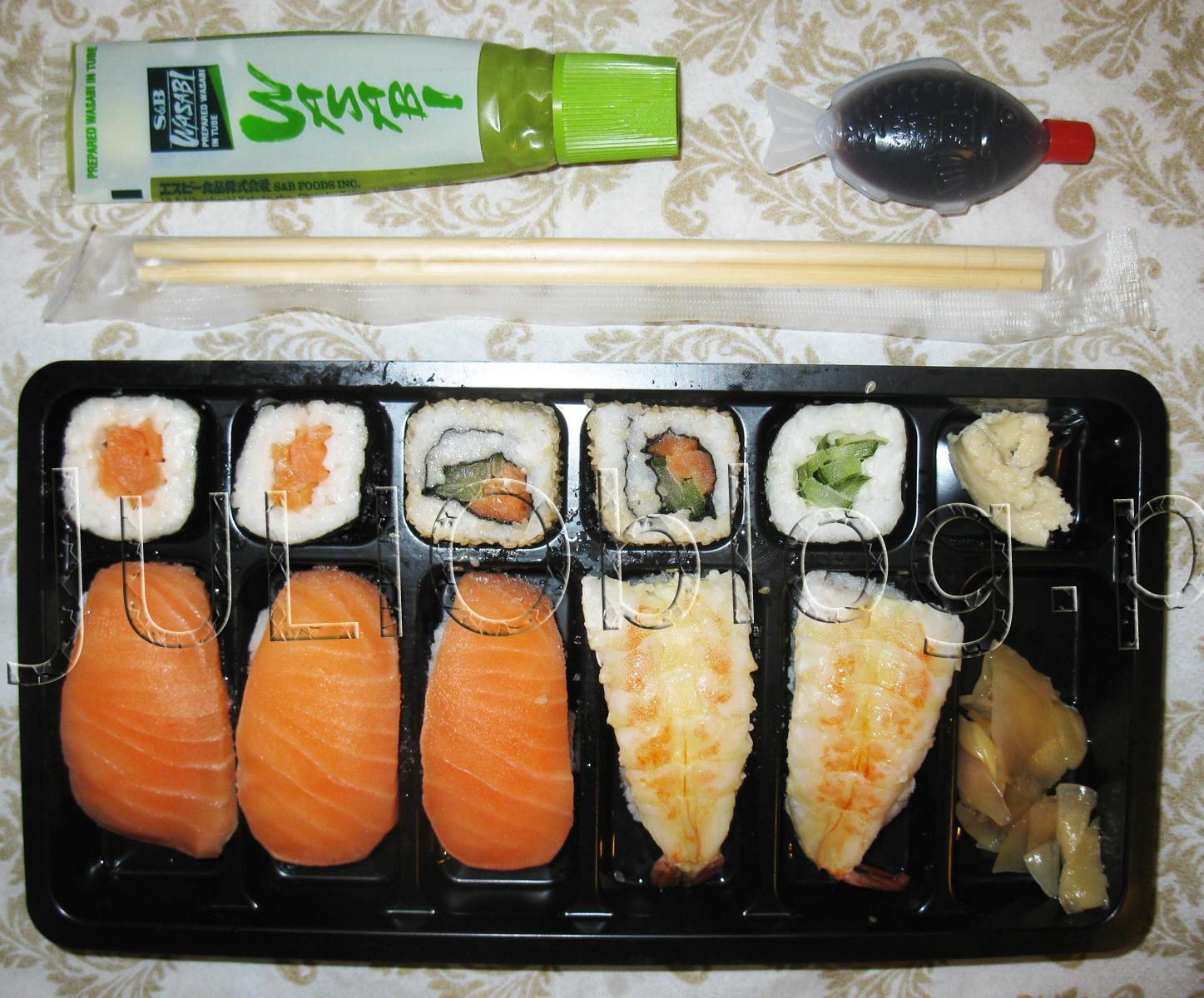 sushi z kaufland u. Black Bedroom Furniture Sets. Home Design Ideas