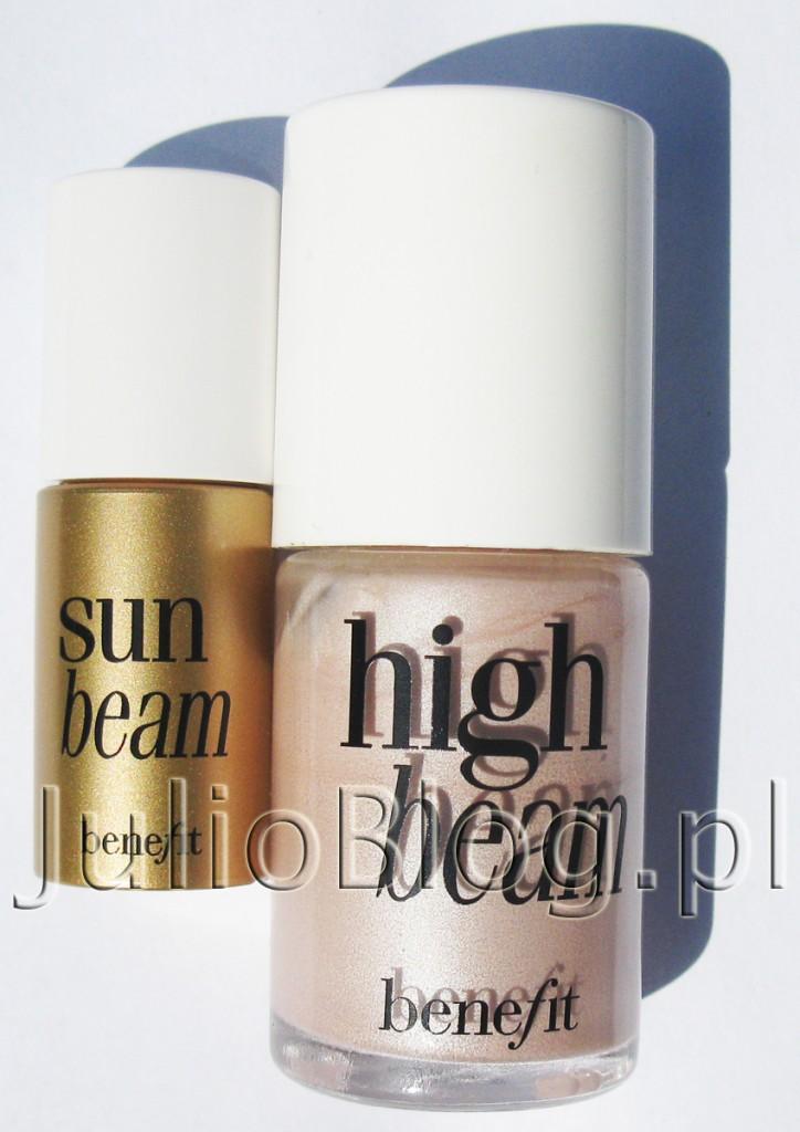 julioblog.pl-rozświetlacze-benefit-rozświetlacz-high-beam-13ml-119zł-sephora-miniatura-sun-beam-z-zestawu-sunbeam-highbeam-małe-i-duże-opakowanie