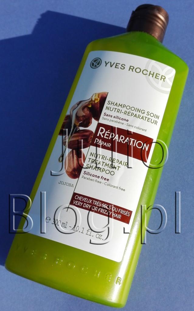Szampon-odbudowujący-Roślinna-pielęgnacja-włosów-Yves-Rocher-300ml-reperation
