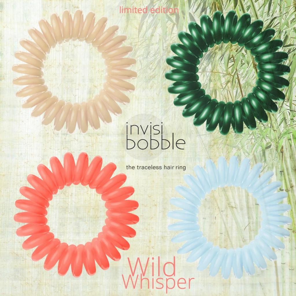julioblog.pl blog julii zakupy julii gumki do włosów invisibobble limitowana seria wild whisper