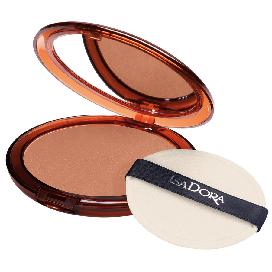 julioblog.pl puder brązujący IsaDora Isa Dora bronzing powder 45 highlight tan