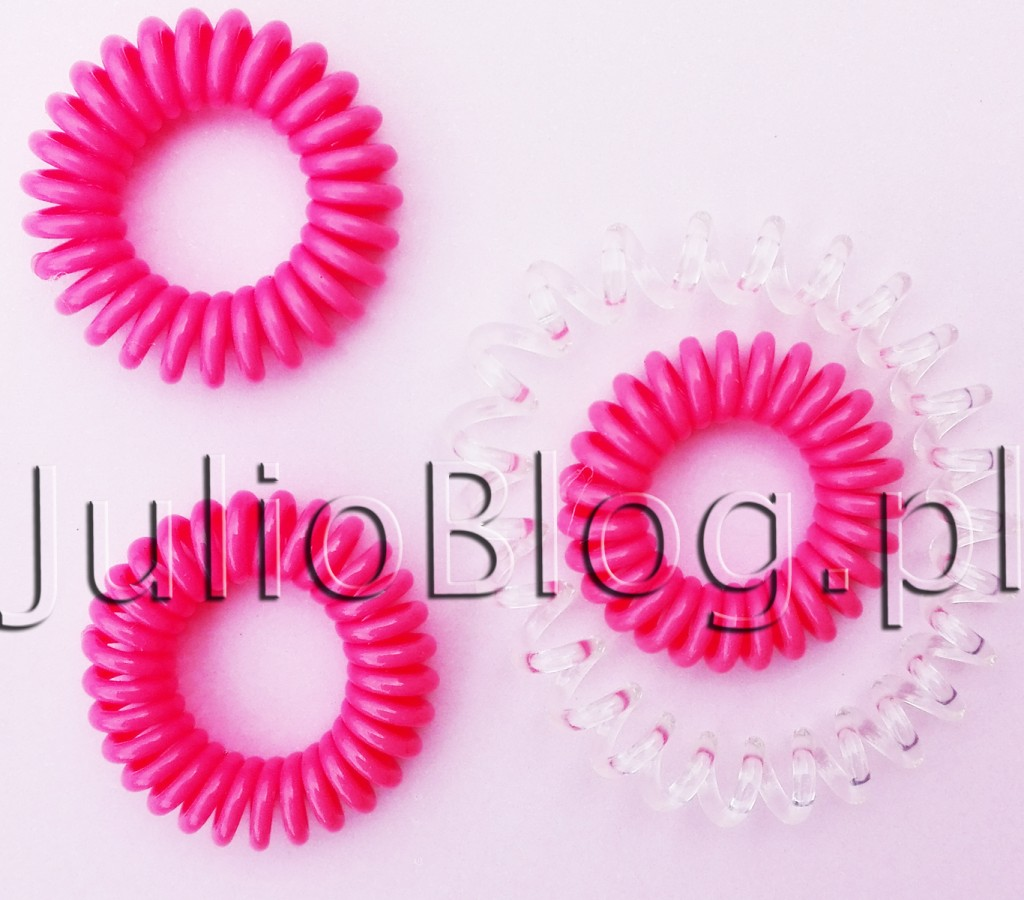 julioblog.pl-zakupy-julii-gumki-do-włosów-invisibobble-crystal-clear-pink-flamingo