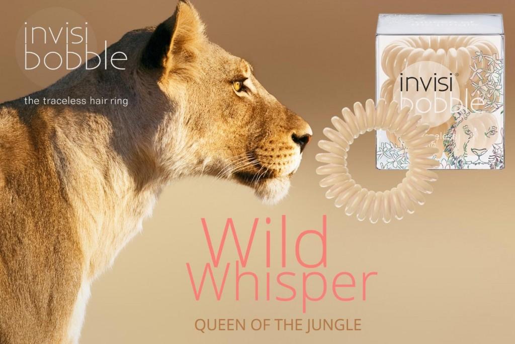 queen-of-the-jungle-invisibobble-gumki do włosów z serii lato 2015-wild-whisper