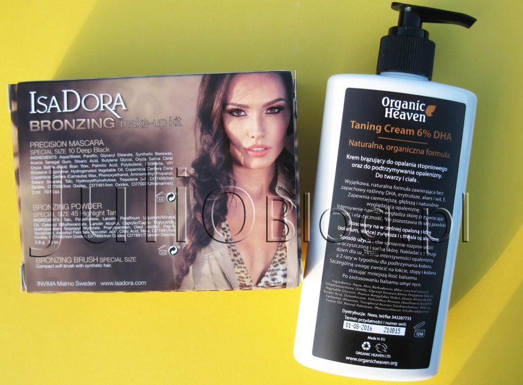 zestaw-do-makijażu-IsaDora-BRONZINg-MAKE-UP-KIT-highlight-tan-tusz-precision-mascara-pędzel-kabuki-puder-brązujący-krem-samoopalający-nawilżający-organic-heaven-opis-informacje-skład